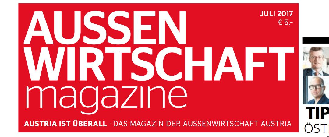 AUSSENWIRTSCHAFTmagazine holt Silber beim BCM-Award in Hamburg