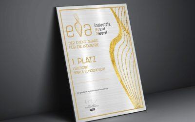 Gewinnen Sie mit Ihrem B2B Event. Der erste EVA Event Award ist da.