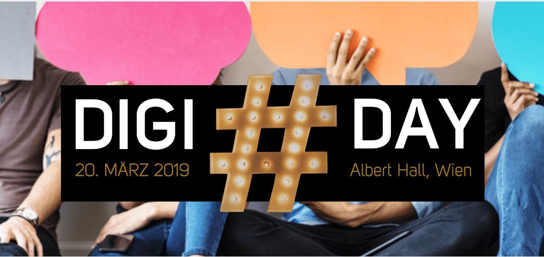 20. März: Kommen Sie zum Digiday 2019