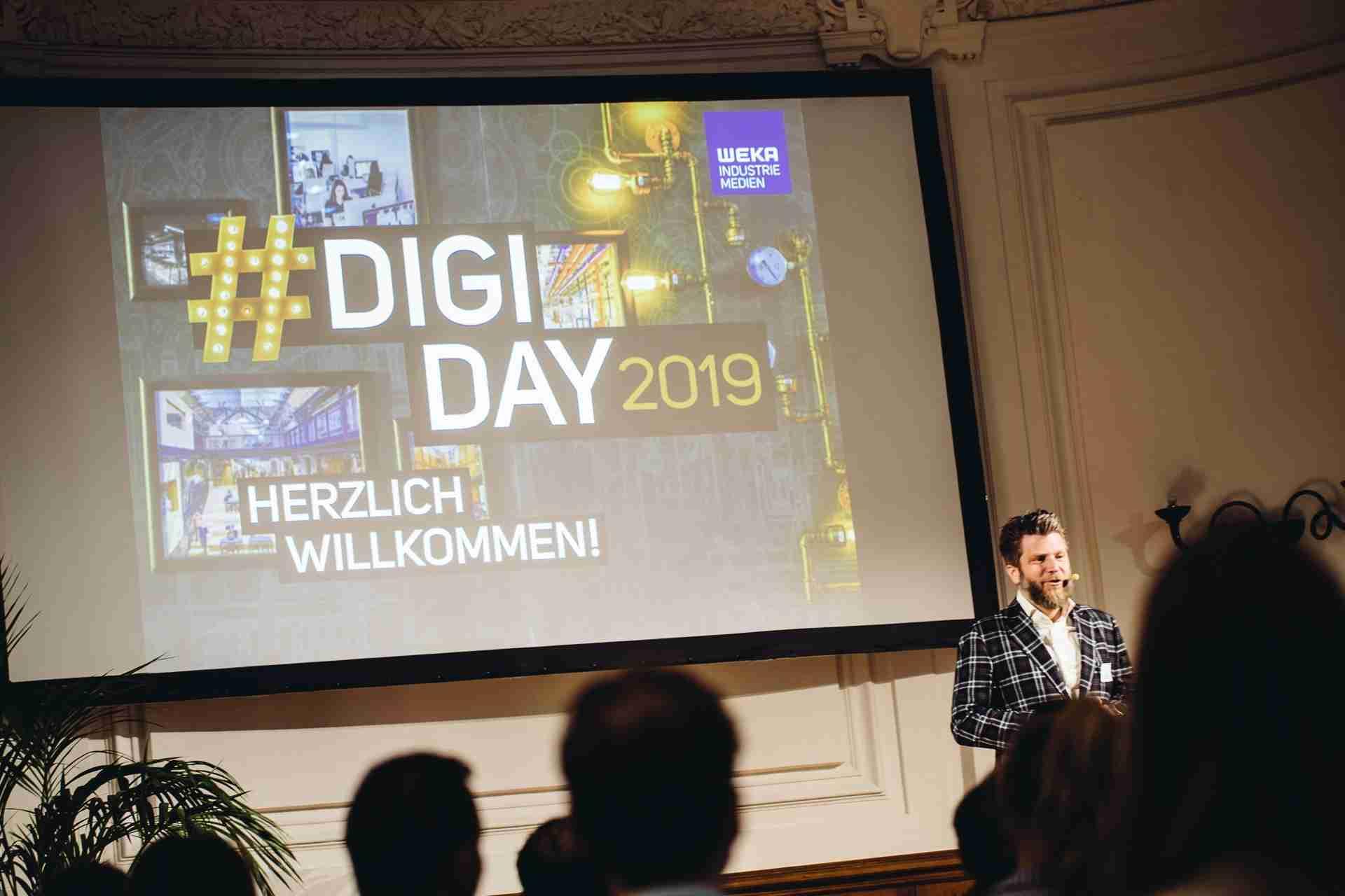 Der Digiday 2019 / Bild: M. Heschl