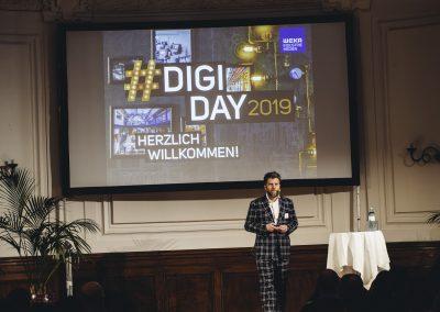 Florian Zangerl eröffnet den DIGIDAY 2019