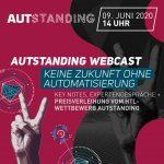 AUTstanding Webcast | Keine Zukunft ohne Automatisierung | EUR 0,-