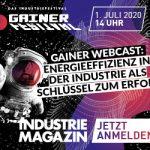 GAINER Webcast | Energieeffizienz in der Industrie – der Schlüssel zum Erfolg | EUR 0,-
