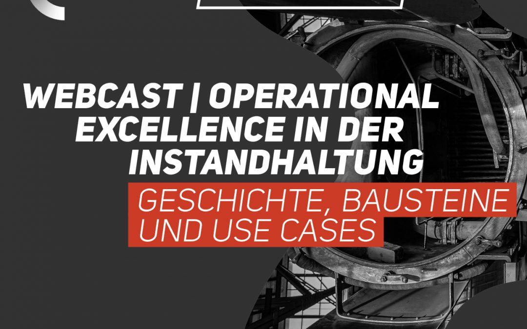 Webcast | Operational Excellence in der Instandhaltung | EUR 0,-