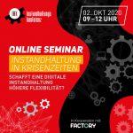 Online Seminar | Instandhaltung in Krisenzeiten! | EUR 190,-