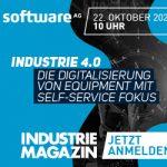 Webcast | Industrie 4.0: Die Digitalisierung von Equipment mit Self-Service Fokus | EUR 0,-
