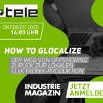 Webcast | How to glocalize – Der Weg von Offshoring zurück zur lokalen Elektronik-Produktion | EUR 0,-