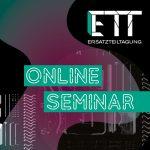 Online ETT-Seminar | Im Maschinen‐ und Anlagenbau Service‐Leistungen offensiv verkaufen