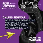 Webinar | Harte Preisgespräche mit Einkäufern | 18.11.2021 | Online/Zoom